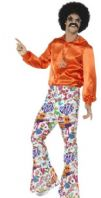 60's 70's Groovy Flared Trousers (44907)